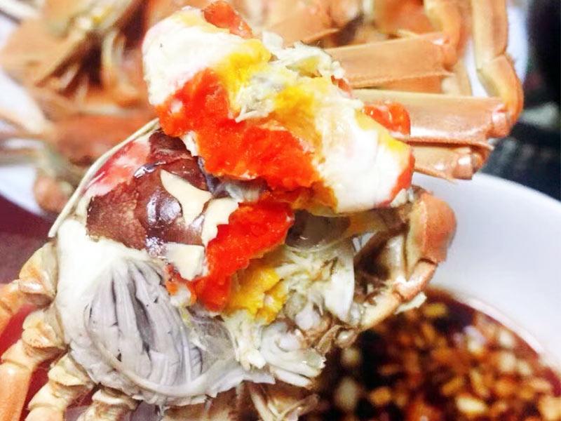 大闸蟹和牛肉能一起吃吗?